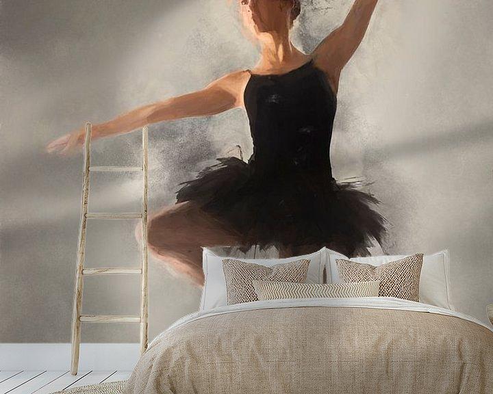 Beispiel fototapete: Ballerina I von Arjen Roos