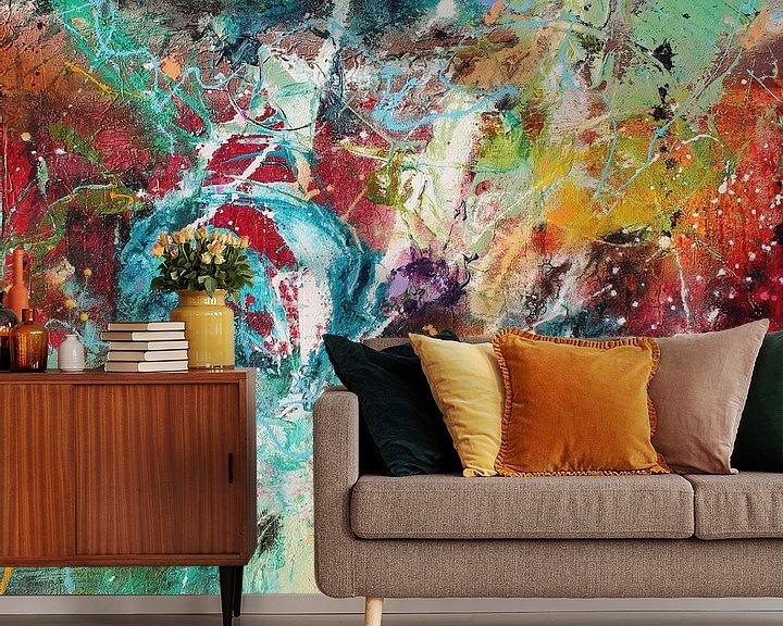 Sfeerimpressie behang: Bright Day 1 van Atelier Paint-Ing