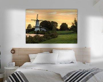 Windmolen in Deil Nederland von Marcel Derweduwen