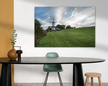 windmolen in Deil Holland von Marcel Derweduwen