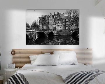 Amsterdam, Leidsegracht von Angel Flores