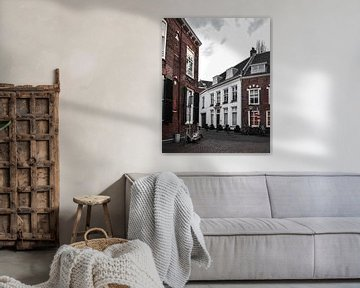 Straat in Utrecht von Kim de Been