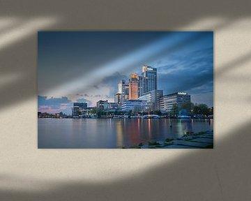 blue hour de Omval, Amsterdam von Rene Mens