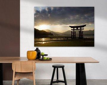 Itsukushima-shrijn, Miyajima, Japan van Marcel Alsemgeest