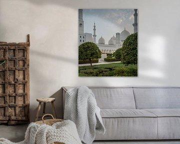 Sheikh Zayed Grand Mosque van Luc Buthker