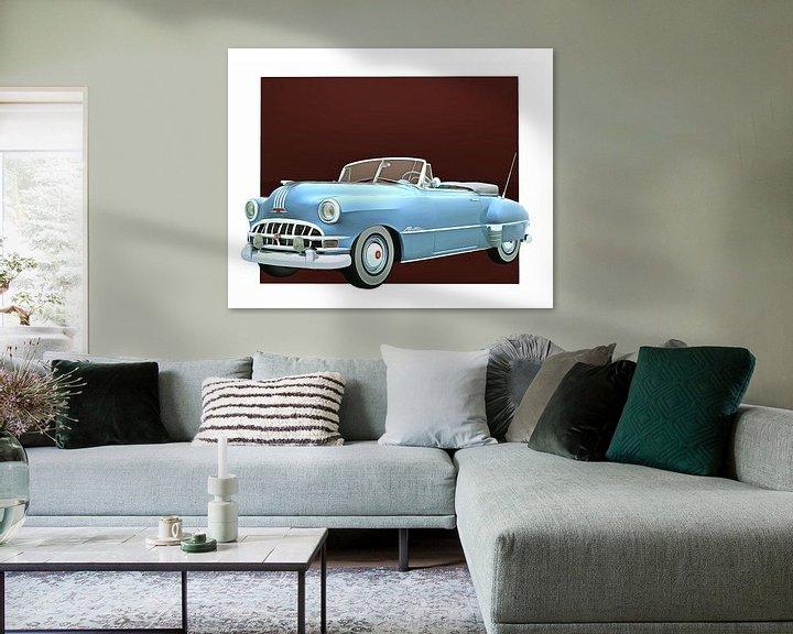 Sfeerimpressie: Klassieke auto – Oldtimer Pontiac Chieftain Convertible van Jan Keteleer