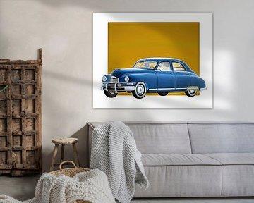 Voiture classique –  Oldtimer Packard Eight Sedan 1948 sur Jan Keteleer