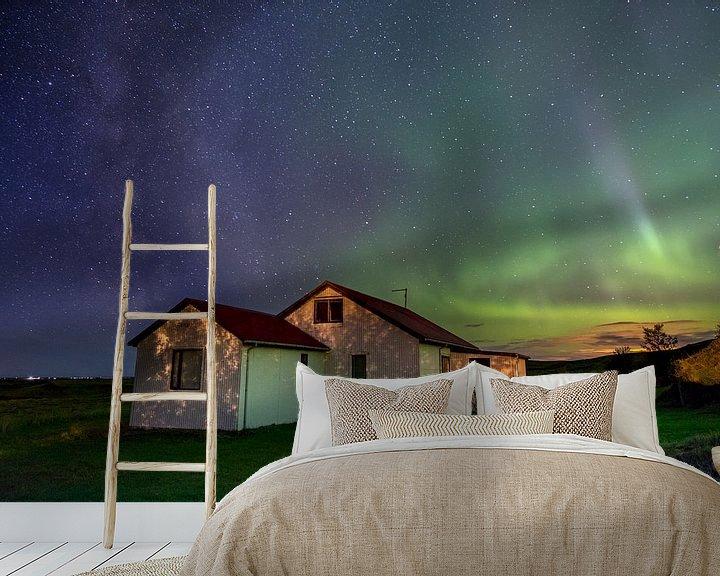 Sfeerimpressie behang: Zou jij hier willen wonen? van Freek van den Driesschen