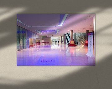 Conferentiecentrum Doha, in Qatar van Kees van Dun