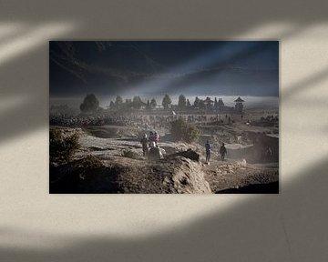 Bromo vulkaan van Kees van Dun