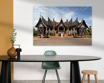 Minangkabau Haus von Kees van Dun