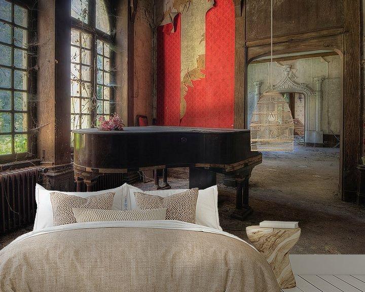 Beispiel fototapete: Das alte vergessene Klavier von Truus Nijland