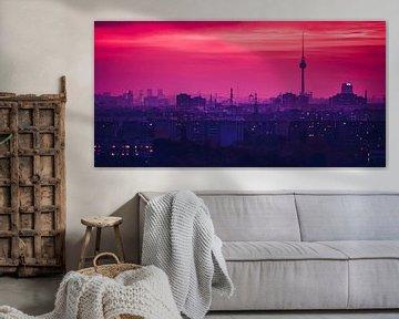 Berlin Skyline van Alexander Voss