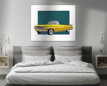 Klassieke auto – Oldtimer Chevrolet Impala 1959 convertible