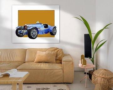 Klassieke auto – Oldtimer Bugatti Phoenix