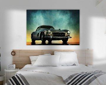 Klassieke auto – Oldtimer Mercedes 300SL