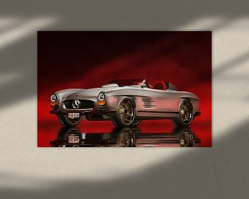 Klassieke auto – Oldtimer Mercedes 300SL Daytona Roadster