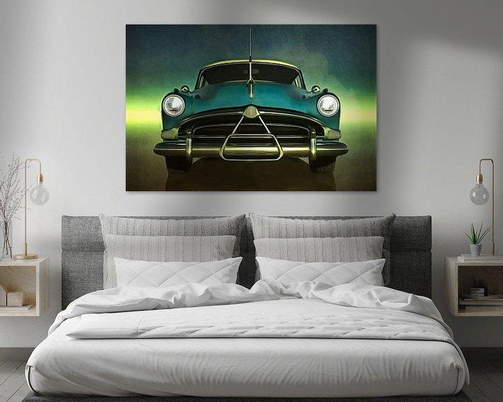 Sfeerimpressie: Klassieke auto – Old-timer Hudson Hornet van Jan Keteleer