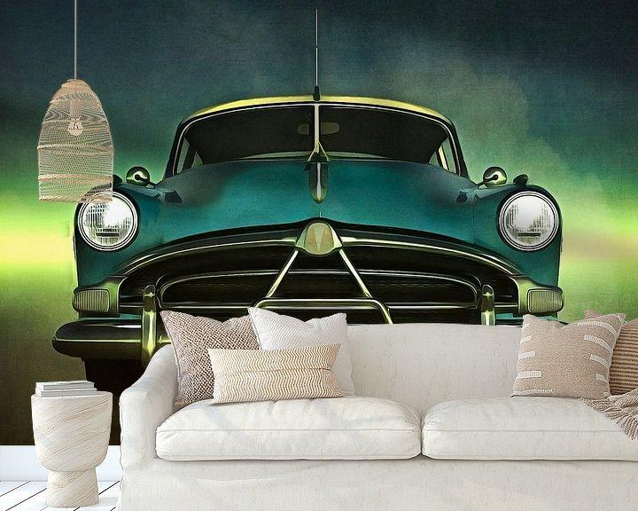 Sfeerimpressie behang: Klassieke auto – Old-timer Hudson Hornet van Jan Keteleer
