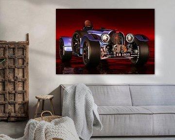 Klassieke auto – Oldtimer Bugatti Type 33