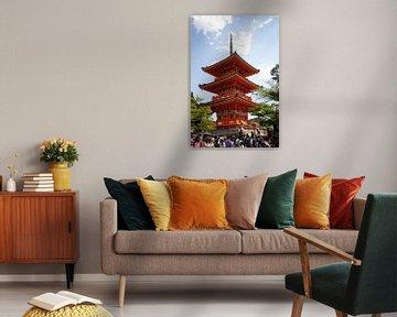 Kyoto Kiyomizu-dera Tempel von Kees van Dun