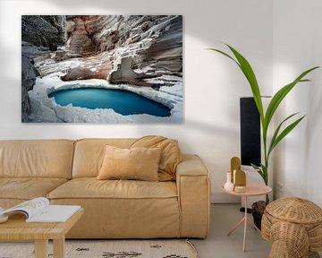 Athabasca falls van Luc Buthker
