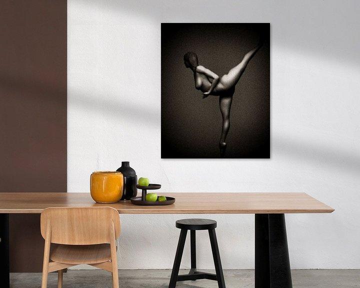 Sfeerimpressie: Naakte vrouw – Naakt Studie van Lana van Jan Keteleer