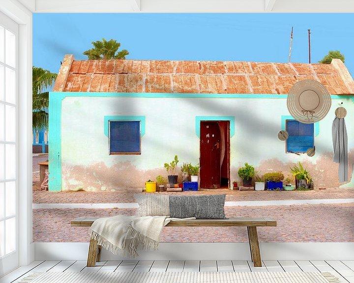 Sfeerimpressie behang: Kaapverdië van Inge Hogenbijl