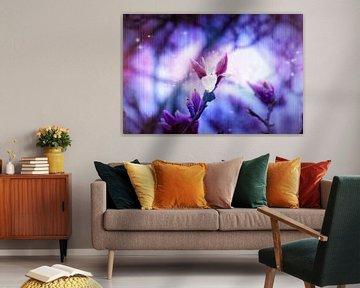 paarse lente van Ribbi The Artist