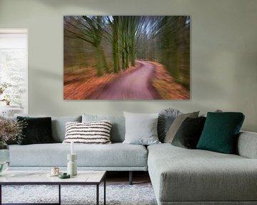 snel door het bos sur Georges Hoeberechts