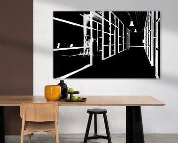 Zwart & Wit Modern van Ravi Stil