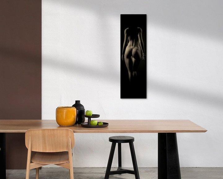 Sfeerimpressie: Naakte vrouw – Naakt vanaf de achterkant van Jan Keteleer