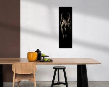 Nackte Frau – Nackt von hinten von Jan Keteleer