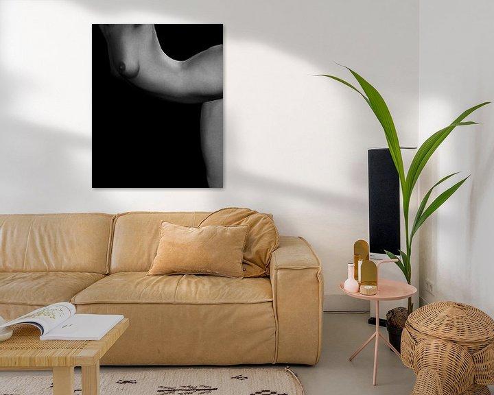 Sfeerimpressie: Naakte vrouw – Naakt studie van Jamie No 7 van Jan Keteleer