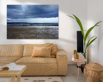 Strand Pors-Mabo Bretagne Frankrijk van Sandra van der Burg