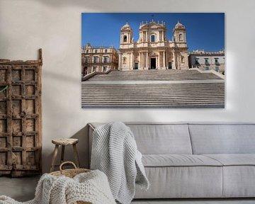 Kathedrale von Noto von Kees van Dun