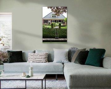 Twisk, Westfriesland: Bauernhof mit Liegeplatz von Kees van Dun