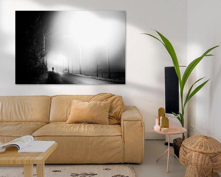 Sfeerimpressie: Misty Road van Tim Corbeel