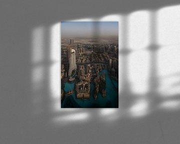 At the top of the Burj Khalifa van Luc Buthker
