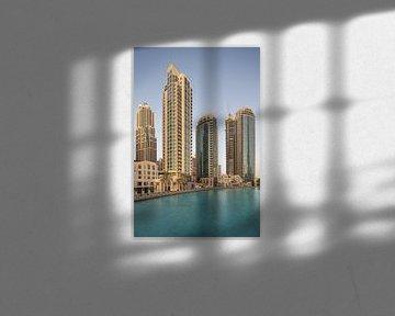 Downtown Dubai van Luc Buthker