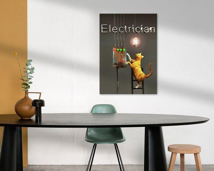 Sfeerimpressie: Katten: elektricien van Jan Keteleer