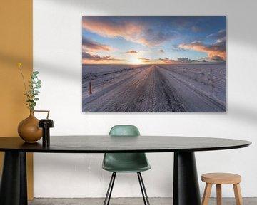 Road 1 IJsland van Luc Buthker
