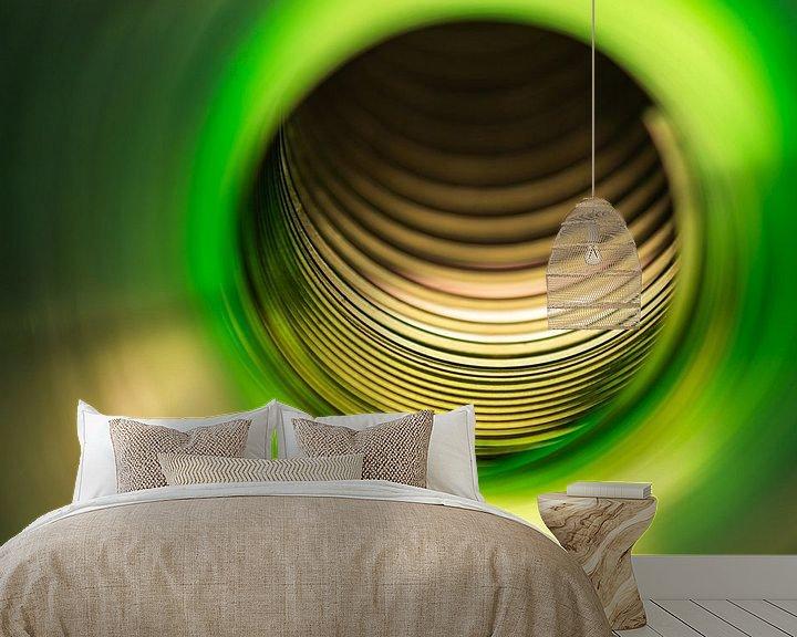 Beispiel fototapete: Groene tunnel von CapturedByMark .