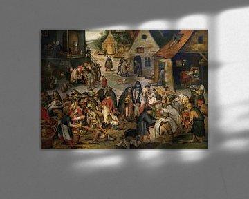 Die Werke der Barmherzigkeit, Pieter Brueghel der Jüngere