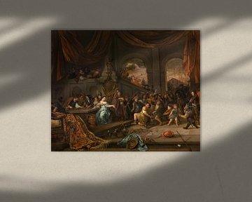 Die Verspottung des Samson, Jan Steen