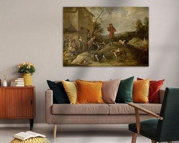 Rastende Jäger, David Teniers der Jüngere