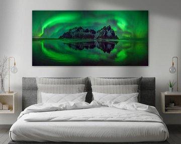Vestrahorn aurora von Wojciech Kruczynski
