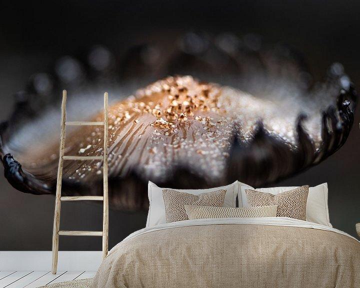 Sfeerimpressie behang: Golden top van Ingrid Aanen