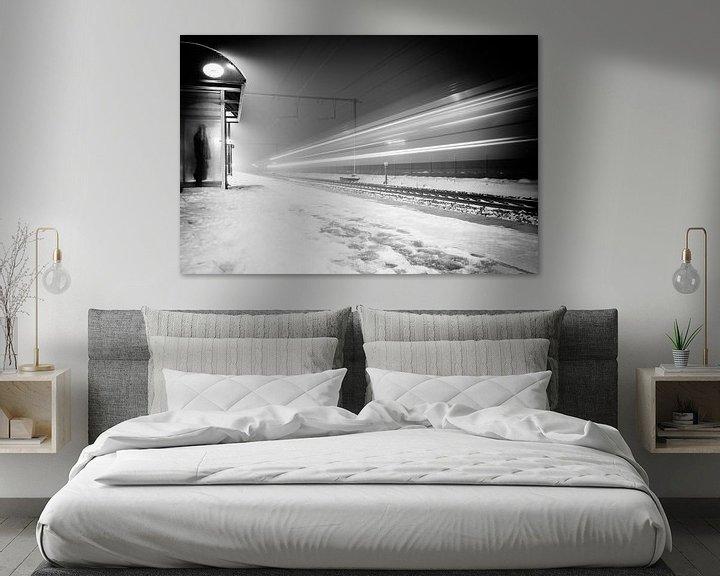 Sfeerimpressie: Winter Train van Tim Corbeel