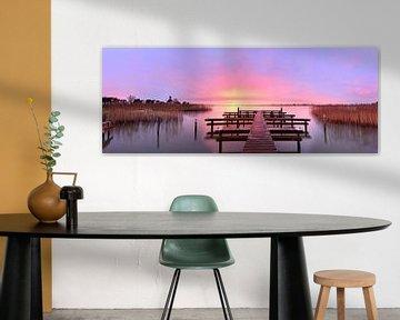 Panorama Durgerdam van John Leeninga